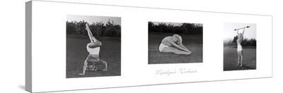 Marilyn's Workout--Stretched Canvas Print