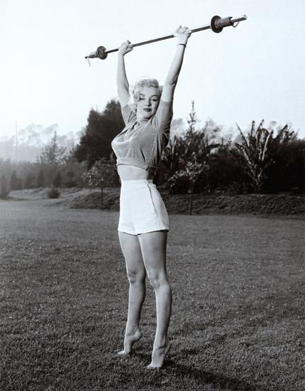 Marilyn Workin' It--Art Print