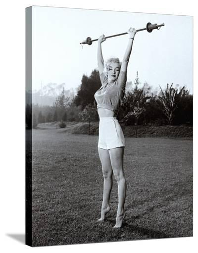 Marilyn Workin' It--Stretched Canvas Print