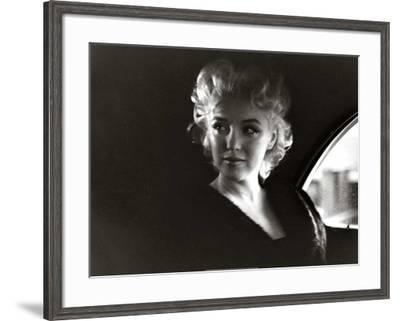 Marilyn-Unknown-Framed Art Print