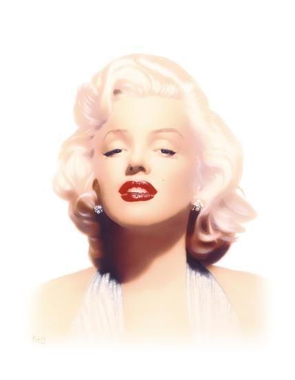 Marilyn-Gerard Kelly-Giclee Print