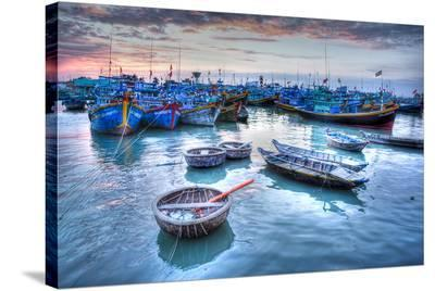 Marina At Phat Thiet - Vietnam--Stretched Canvas Print
