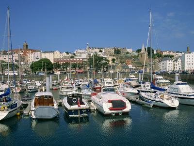 Marina at St. Peter Port, Guernsey, Channel Islands, United Kingdom, Europe-Lightfoot Jeremy-Photographic Print