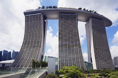 Marina Bay Sands Hotel, Singapore, Southeast Asia, Asia-Christian Kober-Photographic Print