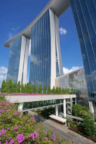 Marina Bay Sands Hotel, Singapore, Southeast Asia-Frank Fell-Photographic Print