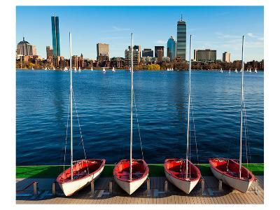 Marina Boston Massachusetts--Art Print