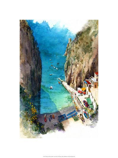 Marina de Praia - Amalfi Coast-Bruce White-Premium Giclee Print