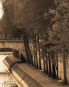 Le Bord de la Seine by Marina Drasnin Gilboa