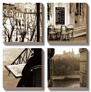 Paris and La Seine by Marina Drasnin Gilboa