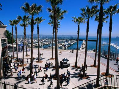 Marina Gate at Pacific Bell Park, San Francisco, California, USA-Roberto Gerometta-Photographic Print
