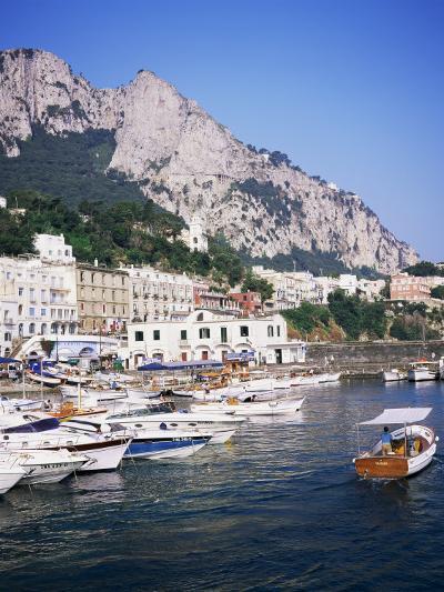 Marina Grande, Island of Capri, Campania, Italy, Mediterranean-Roy Rainford-Photographic Print