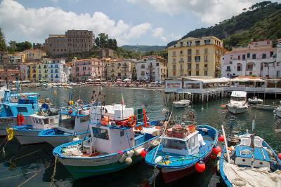 Marina Grande, Sorrento, Costiera Amalfitana (Amalfi Coast), UNESCO World Heritage Site, Campania-Frank Fell-Photographic Print