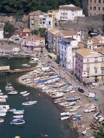Marina Grande, Sorrento, Costiera Amalfitana, Unesco World Heritage Site-Roy Rainford-Photographic Print