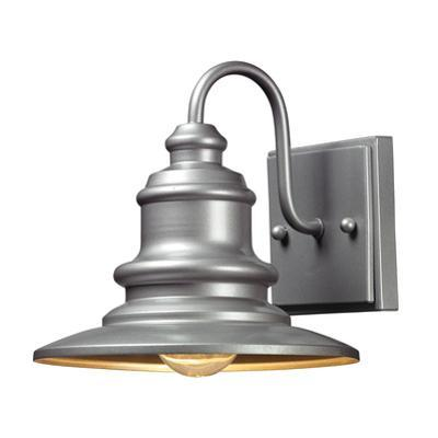 Marina Outdoor Sconce - Matte Silver