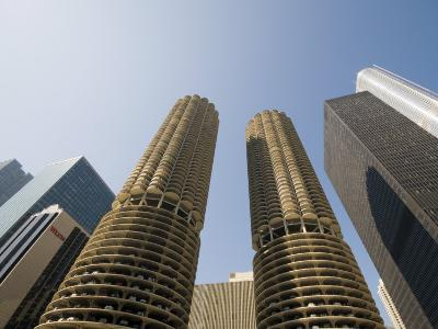 Marina Towers, the Corn Cobs, Chicago, Illinois, United States of America, North America-Robert Harding-Photographic Print