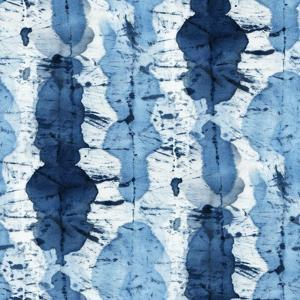 Tie-Dye of Indigo Color by Marina Zakharova