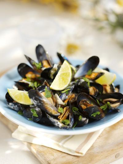 Marinated Mussels-Ian Garlick-Photographic Print