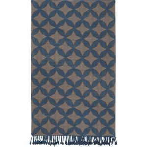 """Marinda Area Rug - Teal/Charcoal 5' x 7'6"""""""