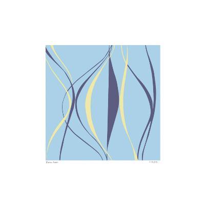Marine Azure-Denise Duplock-Serigraph