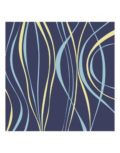 Marine Blue-Denise Duplock-Art Print
