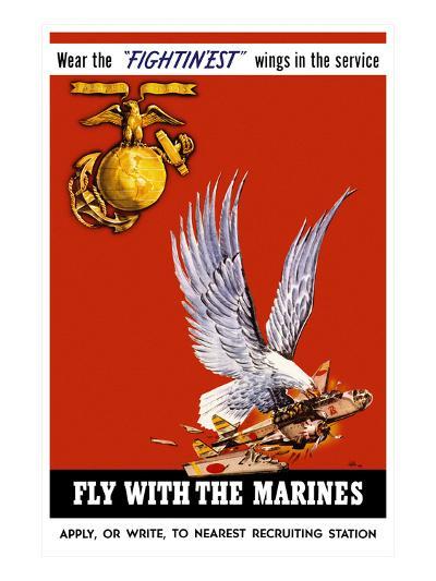 Marine Corps Recruiting Poster--Art Print
