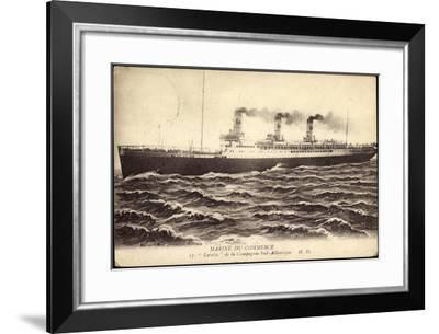 Marine Du Commerce, Comp, Navigation Sud-Atlantique--Framed Giclee Print