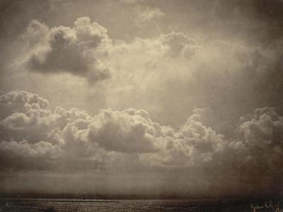 Marine, étude de nuages-Gustave Le Gray-Giclee Print
