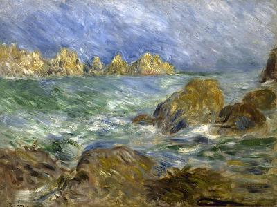 Marine: Guernesey-Pierre-Auguste Renoir-Giclee Print