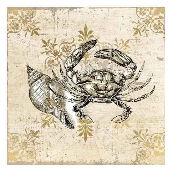 Marine Life 3-Kimberly Allen-Art Print