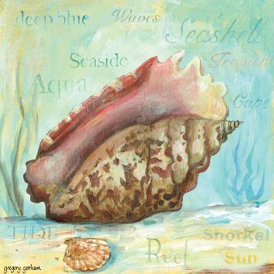 Marine Life Motif V-Gregory Gorham-Art Print