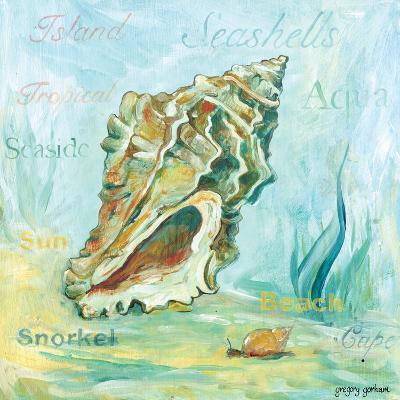 Marine Life Motif VI-Gregory Gorham-Art Print