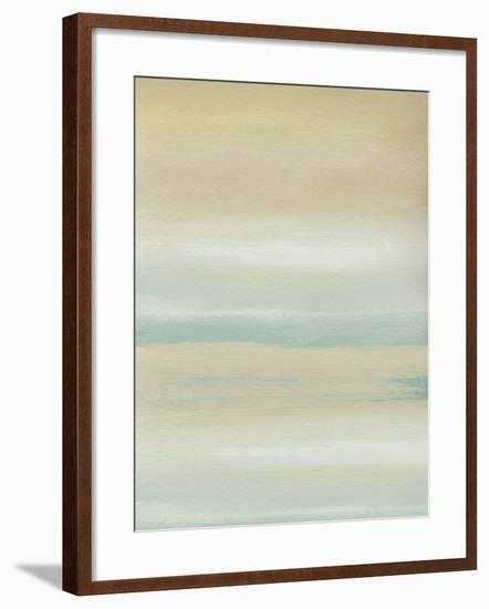 Marine Moods - Hazy-Kim Johnson-Framed Giclee Print