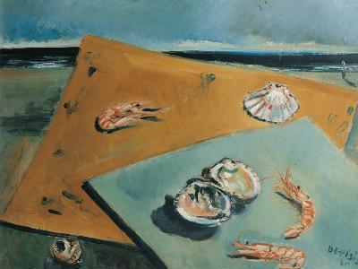 Marine Still Life with Scampi-Filippo De Pisis-Giclee Print