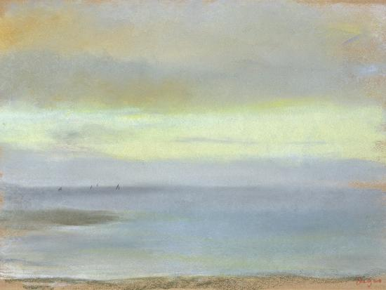 Marine Sunset, C.1869-Edgar Degas-Giclee Print
