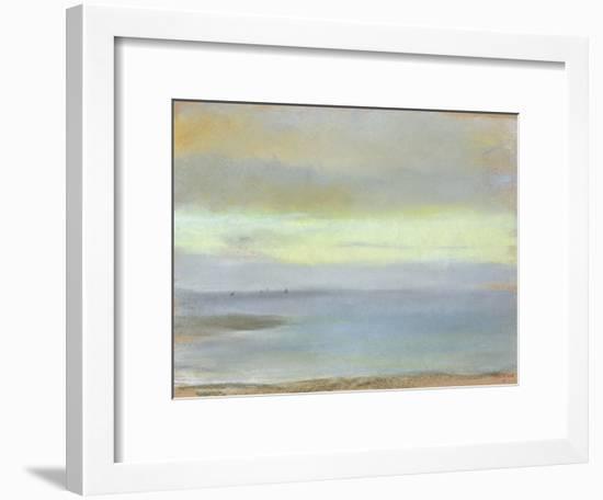 Marine Sunset, C.1869-Edgar Degas-Framed Giclee Print