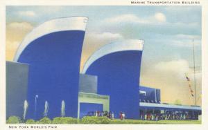Marine Transportation Building, New York World's Fair, 1939