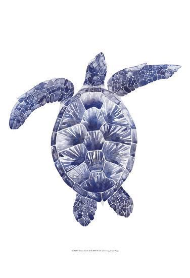 Marine Turtle II-Grace Popp-Art Print