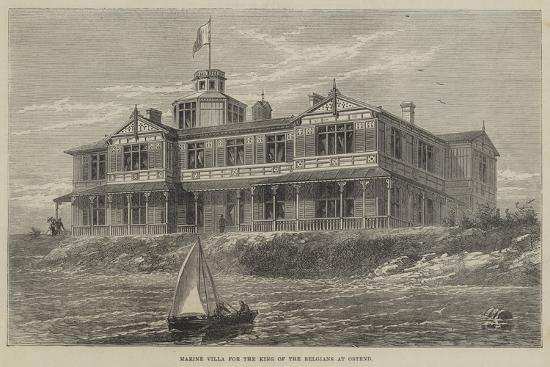 Marine Villa for the King of the Belgians at Ostend--Giclee Print
