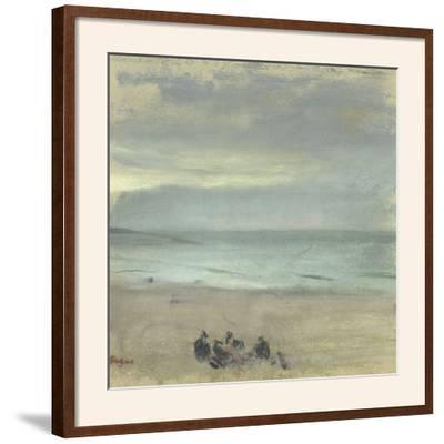 Marine-Edgar Degas-Framed Giclee Print