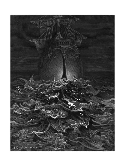 Mariner, Rotting Sea-Gustave Dor?-Giclee Print