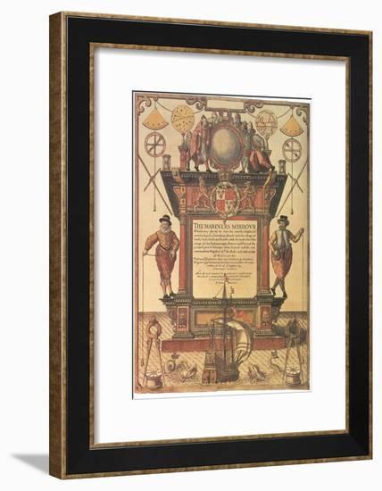 Mariners Mirror, 1579--Framed Giclee Print