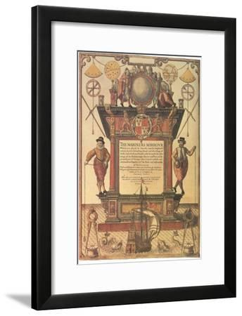 Mariners Mirror, 1579--Framed Giclee Print