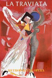 La Traviatta (Metropolitan Opera) by Marino Marini