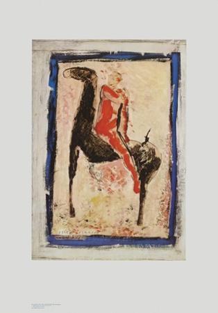 The Red Rider by Marino Marini