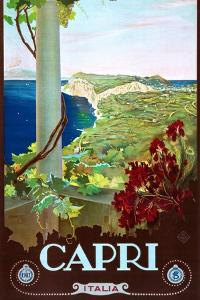 Capri by Mario Borgoni