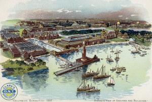Columbian Exposition, 1893, c.1893-94 by Mario Borgoni