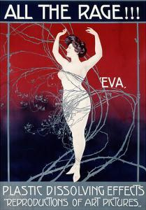 Eva, All the Rage by Mario Borgoni
