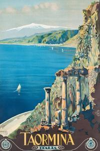 Taormina, 1927 by Mario Borgoni