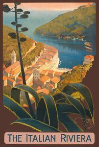 The Italian Riviera - Portofino, Italy by Mario Borgoni