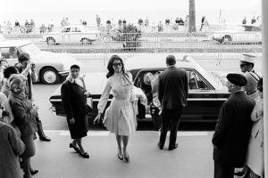 Sophia Loren Arrives at the Cinema Palace of Cannes by Mario de Biasi